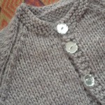 modele tricot gilet facile #16