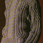 modele tricot gilet irlandais femme #11