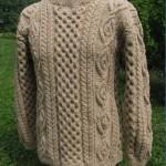 modele tricot gilet irlandais femme #14