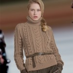 modele tricot gilet irlandais femme #16