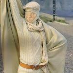 modele tricot gilet irlandais femme #17