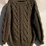 modele tricot gilet irlandais femme #18