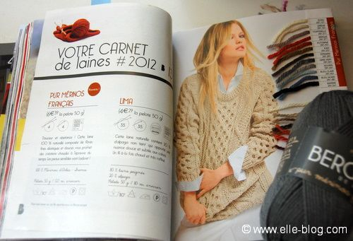 modele tricot gilet irlandais femme #5