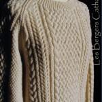 modele tricot gilet irlandais femme #8