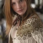 modele tricot gilet irlandais femme #9