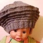 modele tricot gratuit beret femme #13