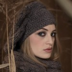 modele tricot gratuit beret femme #1