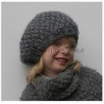 modele tricot gratuit beret femme #4