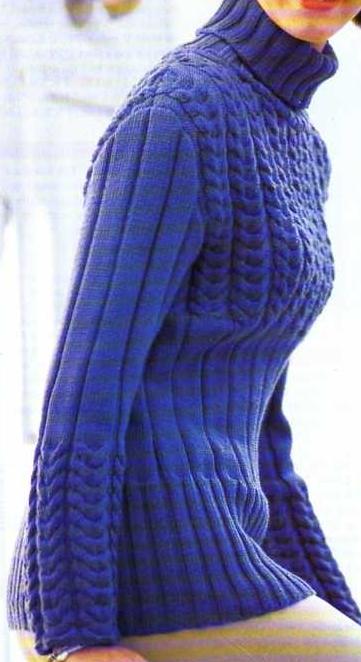 patron tricot gratuit femme actuelle