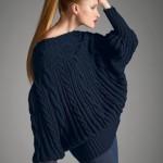 modele tricot homme torsade #10