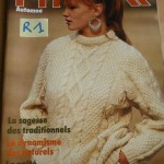 modele tricot homme torsade #8