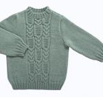 modele tricot irlandais bebe #15