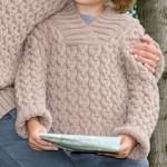 modele tricot irlandais bebe #18