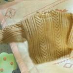 modele tricot irlandais bebe #2