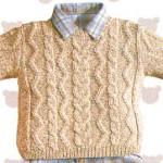 modele tricot irlandais bebe #3