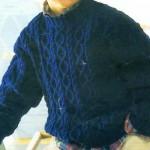 modele tricot irlandais bebe #6