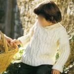 modele tricot irlandais bebe #7