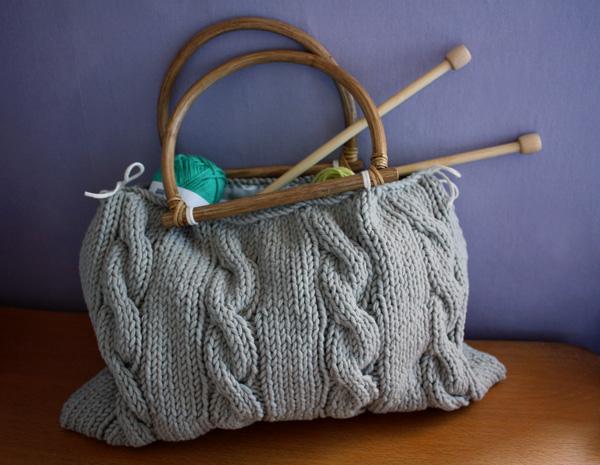 modele tricot sac #12