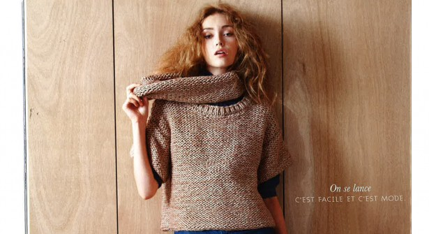 modele tricot veste simple #12