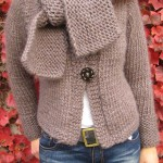 modele tricot veste simple #14