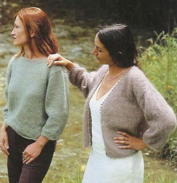 modele tricot veste simple #15
