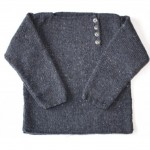 modele tricot veste simple #1