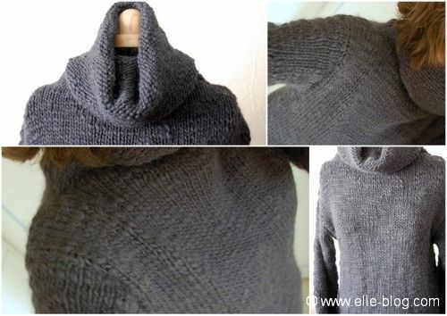 modele tricot veste simple #16