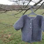 modele tricot veste simple #17