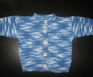 modele tricot veste simple #18