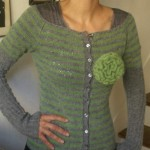 modele tricot veste simple #3