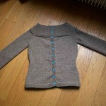 modele tricot veste simple #8
