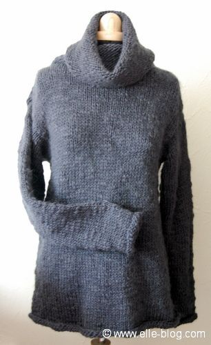 modele tricot veste simple #9