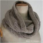 modele tricoter un snood #17