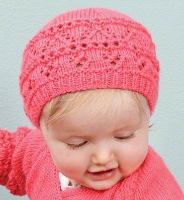 patron tricot gratuit bonnet bebe