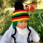 patron tricot bonnet bebe gratuit #14