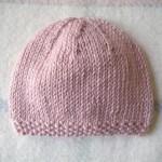 patron tricot bonnet bebe gratuit #18