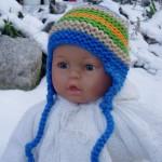 patron tricot bonnet bebe naissant #11