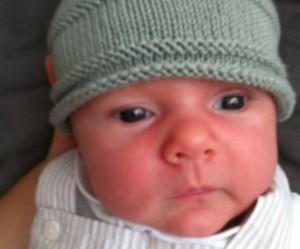 patron tricot bonnet bebe naissant #18