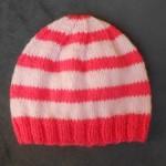 patron tricot bonnet bebe naissant #4