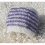 patron tricot bonnet bebe naissant #7