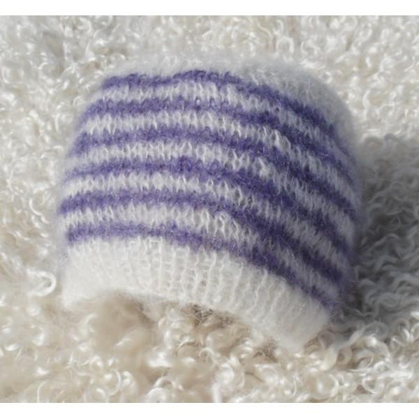 Patron Tricot Bonnet Pointu Bébé » bonnet, bébé, layette, patron, tricot