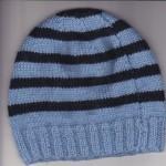 patron tricot bonnet bebe naissant #9