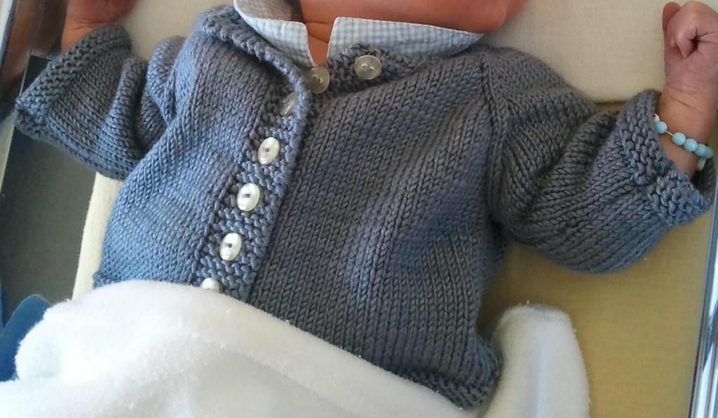 patron tricot facile pour bébé #8