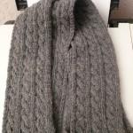 patron tricot foulard torsade #10
