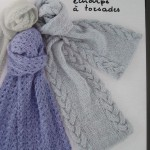 patron tricot foulard torsade #16