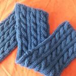 patron tricot foulard torsade #4