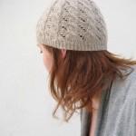 patron tricot tuque torsade #12