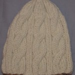 patron tricot tuque torsade #6