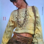 patron tricoter un pull #17