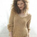 patron tricoter un pull #7